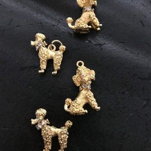 Antique 3D poodles price listed is for 1